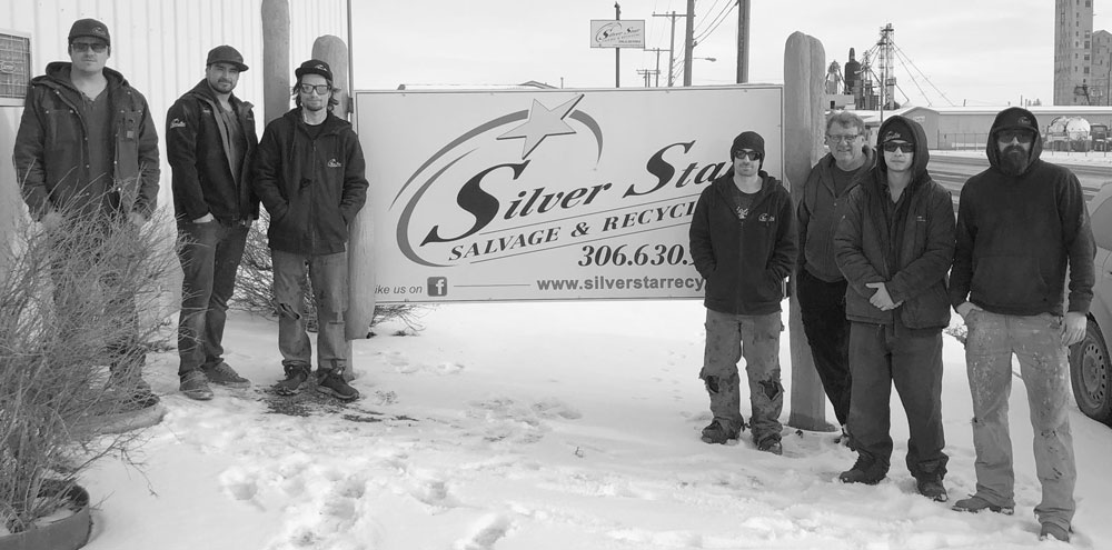 Friendly staff at Silver Star Salvage & Recycling